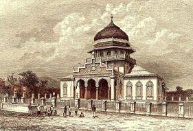Masjid Raya Baiturrahman semasa Perang Sabil.